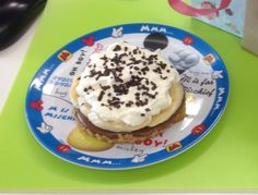 Small Banoffee Pie for elevensies or breakfast... (25 March 2015)