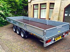 Ifor Williams LM186T 18ft x 6.6ft Tri Axle Flatbed Trailer For Sale in Burnley, Lancashire | Preloved