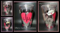 Hey, I found this really awesome Etsy listing at https://www.etsy.com/listing/169676329/nurse-nursing-student-acrylic-tumbler