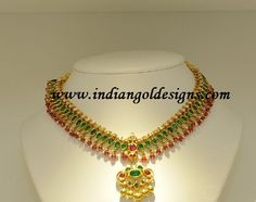 emerald and pearl necklace - Google Search