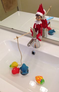 Elf on the shelf placement ideas