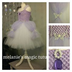 Sofia the first inspired dress by melaniesmagictutus on Etsy