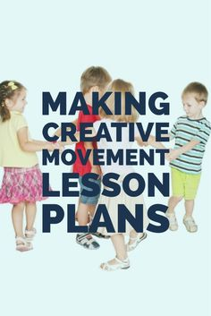 Making Creative Movement Lesson Plans More These creative movement lesson plans are designed to introduce children to the idea of expressing themselves through movement. Music Lessons For Kids, Lesson Plans For Toddlers, Music Lesson Plans, Kindergarten Lesson Plans, Piano Lessons, Gymnastics Lessons, Preschool Gymnastics, Preschool Music, Movement Preschool