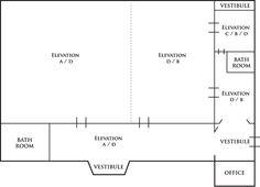 3 B ROOMS Vestibule, Line Chart, Floor Plans, Rooms, Bedrooms, Coins, Floor Plan Drawing