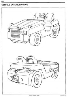 Original Illustrated Factory Workshop Service Manual for Toyota Towing Tractor Type 2TD.Original factory manuals for Toyota (BT) Forclift Trucks, contains high quality images, circuit diagrams and instructions to help you to operate, maintenance and repair your truck. All Manuals Printable, contain