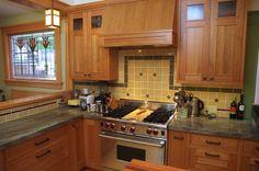 Greg and Suzanne: Kitchen remodel (Craftsman) details