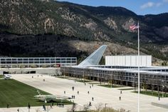 The Air Force Academy's new Center for Character and Leadership Development.