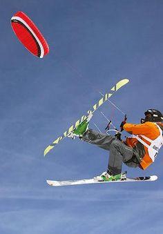 Snow kiting in Obertauern in Salzburg, Austria Stunt Kite, Salzburg Austria, Ski Holidays, Paragliding, Snow Skiing, Winter Sports, I Fall, Snowboard, Hotels
