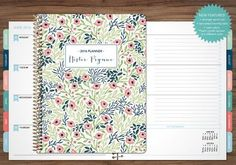12 MONTH PLANNER WITH MONTHLY TABS - CHOOSE YOUR START MONTH ****Also available…