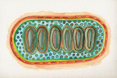 """""""air mattress"""", #Aquarell auf #Hahnemühle Aquarellkarton, 425 g/m2, 32 x 24 cm, © #matthias #hennig 2014 """"air mattress"""", #Watercolour #painting on Hahnemuehle #watercolor board , 425 g/sqm, 32 x 24 cm, © matthias hennig 2014"""