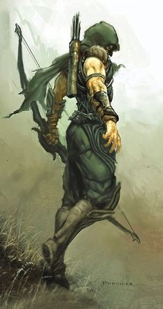 Green Arrow •Phroilan Gardner