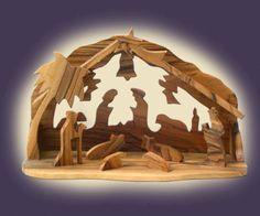 Nativity Set Olive Wood Made in Bethlehem Hand Craved | eBay