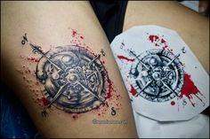 #tattoo #compass #tatuaggio #tattooartist #tattoogirl #suicidegirl #inkedgirl #watercolor #illustration #artwork #sketch #colorful #artoftheday #ink #artist #picoftheday #instagirl #inkideas #inked #tattooart #drawing #selfie #tattoolife #inkedup #tattooist