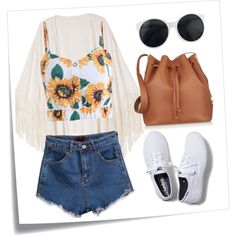#5 by m-edita on Polyvore featuring Keds, Sophie Hulme and Post-It