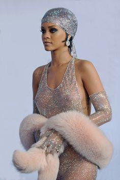 Rihanna for Fashion Icon Award 2014