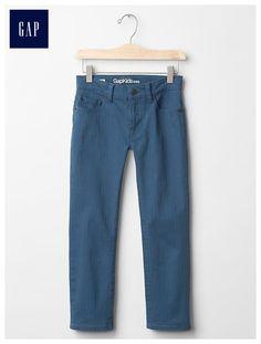Straight fit herringbone pants