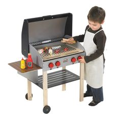 My Backyard Play Grill BBQ - This would be really cute for my nephew Nicholas ♥