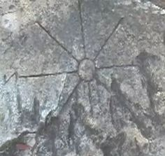 The Compass Carving in the Middle of Nowhere
