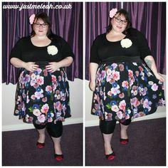 Just me, Leah.: The black wedding and what I wore. Dress by Scarlett & Jo. #plussize #plussizeootd #fatshion