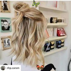 <br> Rainy Day Hairstyles, Easy Everyday Hairstyles, Cute Hairstyles For Medium Hair, Short Bob Hairstyles, Medium Hair Styles, Easy Hairstyles, Wedding Hairstyles, Curly Hair Styles, Hairstyle Short