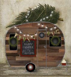 HAPPY CAMPER CHRISTMAS BETH ALBERT