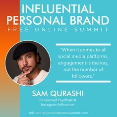 Sam Qurashi is our guest today! If you want to know how to impact your IG presence he lays it all out for you!  Sam is a Writer 🖊 Entrepreneur, and Instagram Influencer  When he took to sharing on social media he quickly grew his page from 300 followers to over 200,000 in less than 13 months.  He is now over 550k followers! 🤩 Miss Nevada, Building A Personal Brand, Radio Personality, Brand Strategist, Keynote Speakers, Instagram Influencer, See On Tv, Personal Branding, Bestselling Author