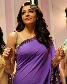 Have a look of kajal agarwal hot looking saree Beautiful Bollywood Actress, Beautiful Indian Actress, Beautiful Asian Girls, Beautiful Actresses, Indian Celebrities, Bollywood Celebrities, Beauty Full Girl, Beauty Women, Kajal Agarwal Saree