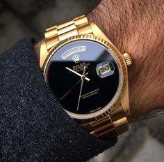 Rolex Presidental Onyx Dial