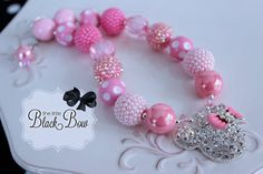 Chunky Bead Necklaces, Bubble Necklaces, Chunky Beads, Girls Necklaces, Beaded Necklace, Beaded Bracelets, Little Girl Jewelry, Kids Jewelry, Cute Jewelry