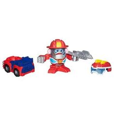 Boneco Hasbro Mr. Potato Heatwave Robot Bombeiro