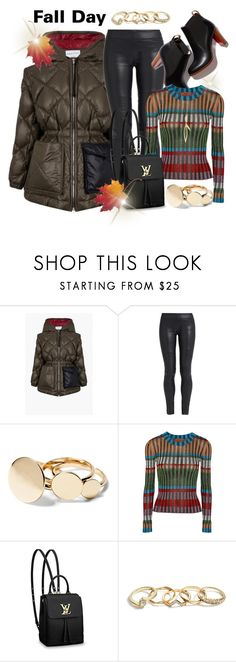 """Ready for A Fall Day"" by helenaymangual ❤ liked on Polyvore featuring Sonia Rykiel, The Row, Missoni, Louis Vuitton and GUESS"