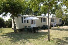 Nuestros Mobile Homes. Para sentiros como en casa. #camping #mobilehomes