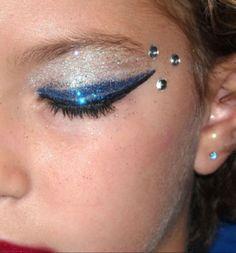 Cheer makeup!!
