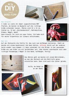 Ynas Design Blog: DIY # Bilderrahmen