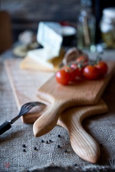 Handcrafted serving boards