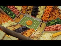 Snack Recipes - How to Make a Snack Stadium for Game Day - YouTube