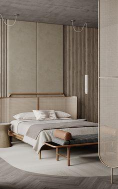 Home Bedroom, Bedroom Decor, Hotel Bedroom Design, Modern Bedroom Design, Master Bedroom, Home Interior Design, Interior Architecture, Bed Design, House Design