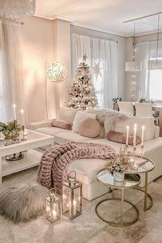 Glam Living Room, Living Room Decor Cozy, Home And Living, Romantic Living Room, Living Room Goals, Decor Room, Living Room Ideas, Beautiful Living Rooms, Small Living