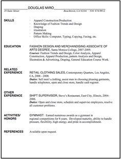 resume merchandiser resume sample resume merchandiser resume retail