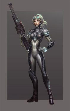 Starcraft - Ghost Nova by Paul Hyun Woo Kwon