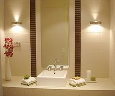 Best Pedestal Sinks Small Bathroom Fixtures Images On Pinterest - Best lighting for small bathroom