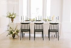 Taking On The Micro Wedding | ElegantWedding.ca Something Beautiful, Simply Beautiful, Table Setting Inspiration, Head Tables, Wedding Place Settings, Wedding Receptions, Love Photography, Wedding Centerpieces, Table Decorations