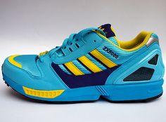 Adidas Love: Original ZX8000's in Aqua colour way. Definately a Summer look