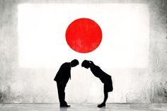 Ojigi, forma de cumprimento no Japão (Foto: Montagem Mundo-Nipo)