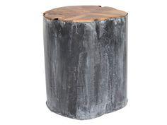 Table d'appoint Dutchbone Metal Teak