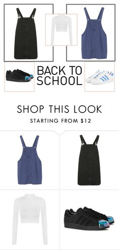 """""""Back To School #2"""" by dilsad-cangr on Polyvore featuring moda, Topshop, WearAll ve adidas Originals"""