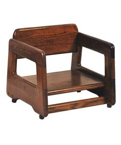 Old Dominion Walnut Booster Seat
