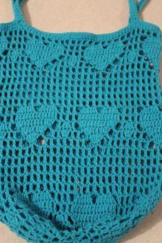 Crochet Bag Heart Market Bag Crochet pattern by Addicted 2 The Hook - Crochet Shell Stitch, Bead Crochet, Free Crochet, Crochet Hooks, Double Crochet, Single Crochet, Crochet Handbags, Crochet Purses, Crochet Bags