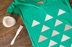 Geometric T-Shirt #diy