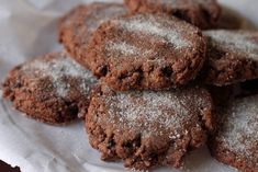Mexican Hot Chocolate Cookies by The Amateur Gourmet, via Flickr